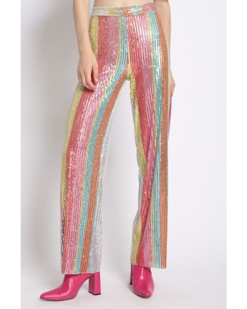 Fun in the City Sequin Pants