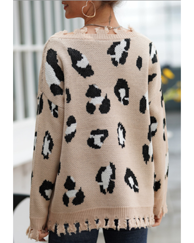 Don't Walk Away Sweater