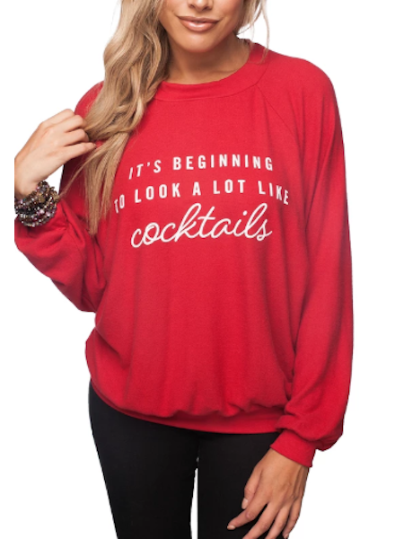 Cocktails Sweatshirt