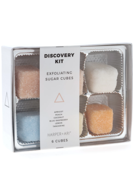 Exfoliating Sugar Cubes - Discovery Kit