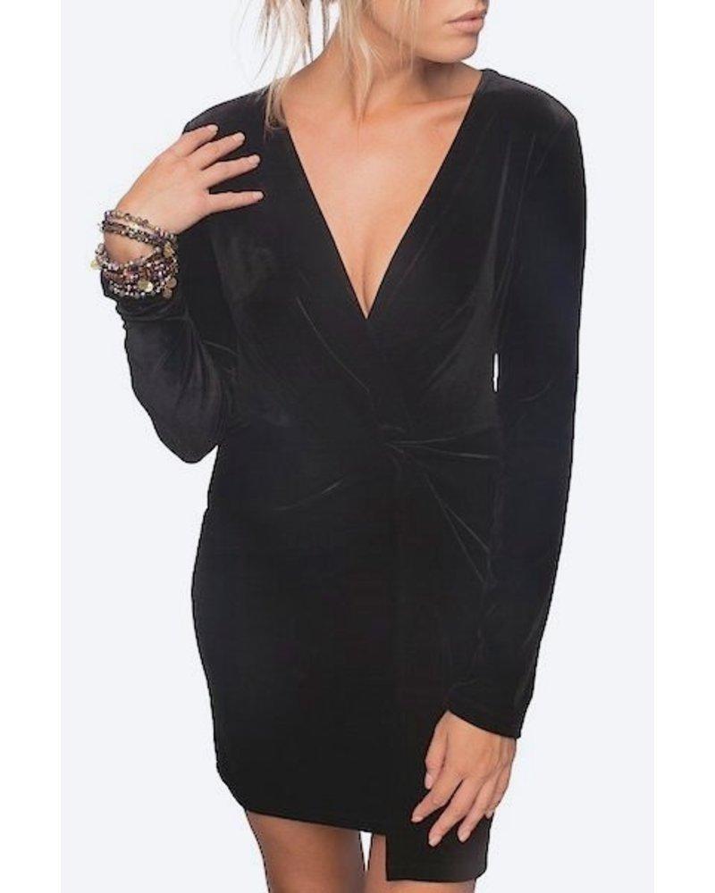 Viola Velvet Dress