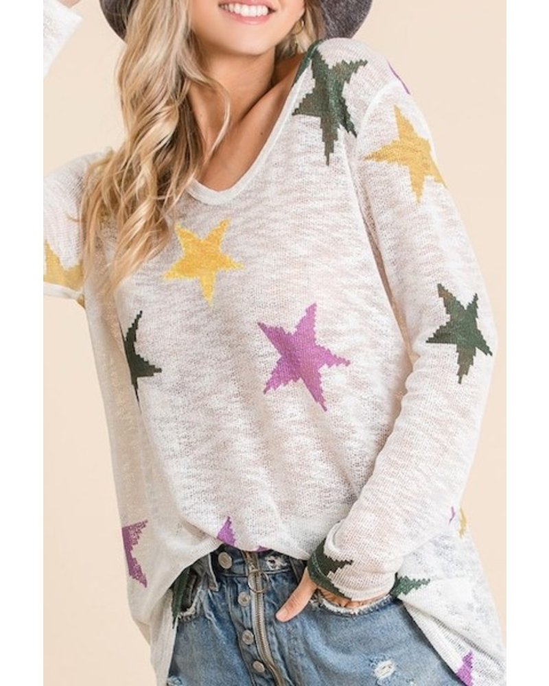 Parade of  Stars Sweater