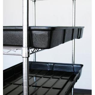 Botanicare Botanicare Rack Tray 2 ft x 4 ft - Black