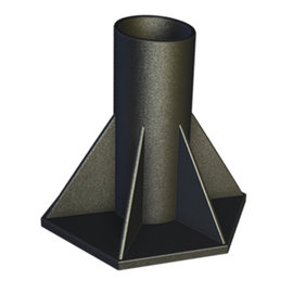 General Hydroponics Snapture Snapstand Cross Fitting