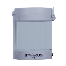 Smokus Focus Smokus Focus Middleman Display Container w/ LED and Dual Magnification - White