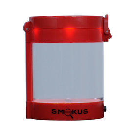 Smokus Focus Smokus Focus Middleman Display Container w/ LED and Dual Magnification - Red