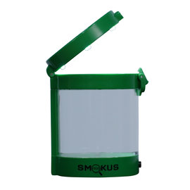 Smokus Focus Smokus Focus Middleman Display Container w/ LED and Dual Magnification - Green