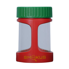 Smokus Focus Smokus Focus Display Container w/ LED and Dual Magnification - Rasta Color