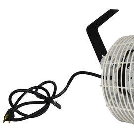 Schaefer Fans Schaefer Versa-Kool Circulation Fan 8 in w/ Tapered Guards Cord & Mount - 450 CFM