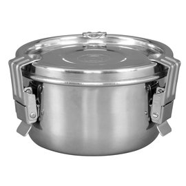 Harvest Keeper HumiGuard Clamp Sealing Stainless Containers - Small