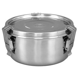 Harvest Keeper HumiGuard Clamp Sealing Stainless Containers - Medium