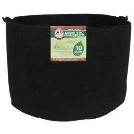 Gro Pro Gro Pro Premium Round Fabric Pot w/ Handles 30 Gallon - Black