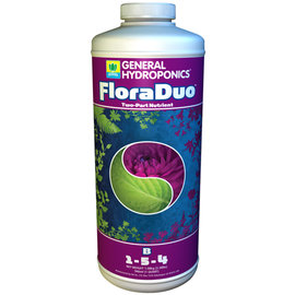 General Hydroponics GH Flora Duo B Quart