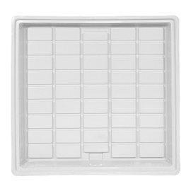 Duralastics Duralastics Tray 4 ft x 4 ft ID - White