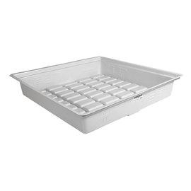 Duralastics Duralastics Tray 3 ft x 3 ft ID - White