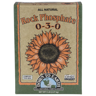 Down To Earth Down To Earth Rock Phosphate 5 lb