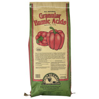 Down To Earth Down To Earth Granular Humic Acid - 25 lb