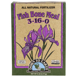 Down To Earth Down To Earth Fish Bone Meal - 5 lb