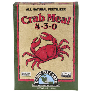 Down To Earth Down To Earth Crab Meal - 5 lb