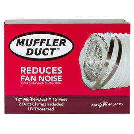 Can Fan Can-Fan Muffler Ducting 12 in x 15 ft