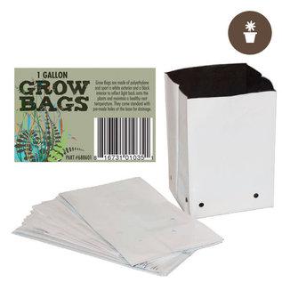 1 Gal. B&W PE Grow Bag (100 per pack)