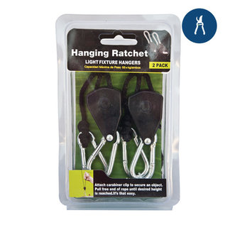 1/8'' Rope Ratchet Light Hanger (2 pc.)