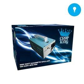 Crop King 1000W Magnetic 120/240 HPS/HM Crop King Ballast