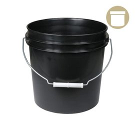 2 Gal. Black Bucket w/ handle