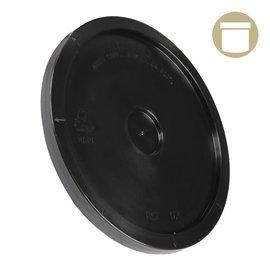 2 Gal. Black Plastic Bucket Lid