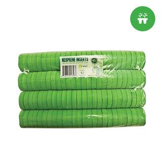 2'' Neoprene Inserts (100 pack) - Green