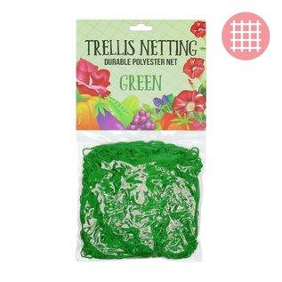 5'x15' Trellis Netting Green