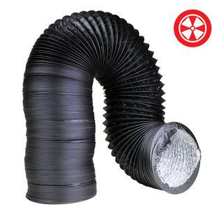4'' Light Proof Black Ducting (Box)