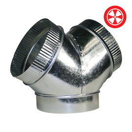 8x8x8 'Y' Duct Connector