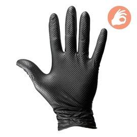 Dirt Defense Dirt Defense 6mil Diamond Grip Gloves 100 pack Medium