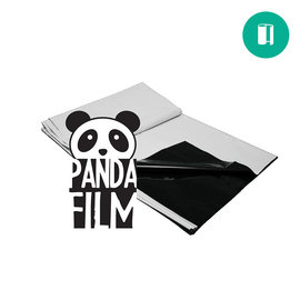 Panda Black & White Film 10'x25' 5.5mil