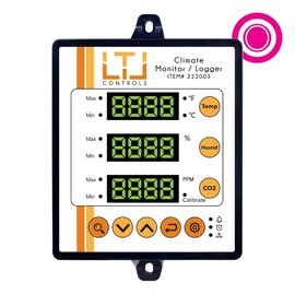 LTL Controls LTL CO2/Temp/Humid Monitor