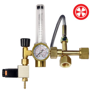 Grow1 Co2 Regulator - Dual