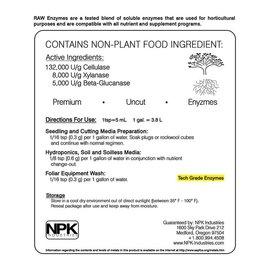 NPK Industries NPK RAW Enzymes 8oz