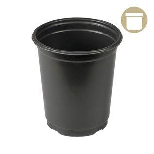 thermoformed 4.5'' x 5.5'' Round Pot 1 qt.
