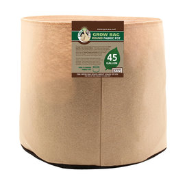 Gro Pro Gro Pro Premium 45 Gallon Round Fabric Pot-Tan