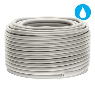 3/16'' x 50' Clear Food Grade Poly Tubing