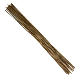 6' 12-14MM Natural Bamboo Stakes (100-pack)