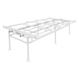 Fast Fit Fast Fit Rolling Bench Tray Stand 4 ft x 8 ft (2 Boxes)