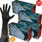 surecare Surecare Black Nitrile gloves 6mil   LARGE