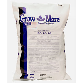 Grow More Grow More Water Soluble 30-10-10, 25 lbs