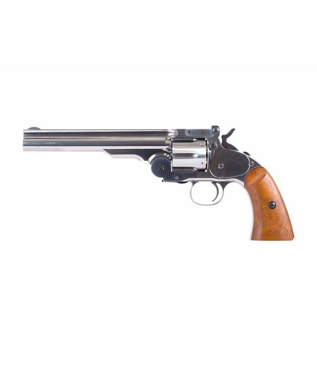Schofield No.3 BB Revolver - Nickel Finish