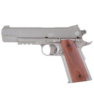 Crosman 1911 Pellet Pistol - Silver