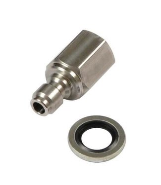 "Best Fittings Male Quick-Disconnect Coupler 1/8"" BSP"
