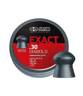 JSB Match Diabolo JSB Match Diabolo Exact Heavy .30 Cal, 50.15gr