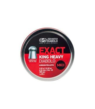 JSB Match Diabolo Exact King Heavy MKII .25 Cal, 33.95gr